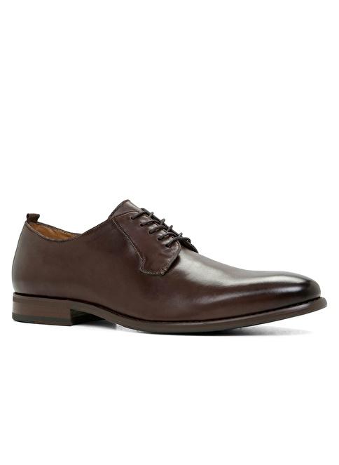Aldo %100 Deri Bağcıklı Klasik Ayakkabı Kahve